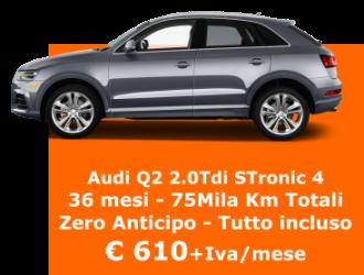 AUDI Q2 2.0 Tdi STronic  Quattro Edition - Diesel