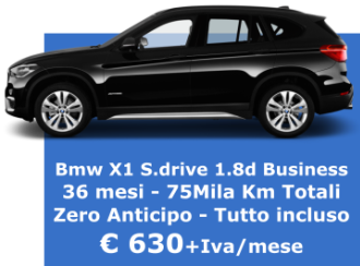 BMW X1 SDrive 1.8 Business - Diesel